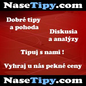nasetipy.com - tipovanie, tipovaci web, tipuj, stavkovanie, bet, dobry tip